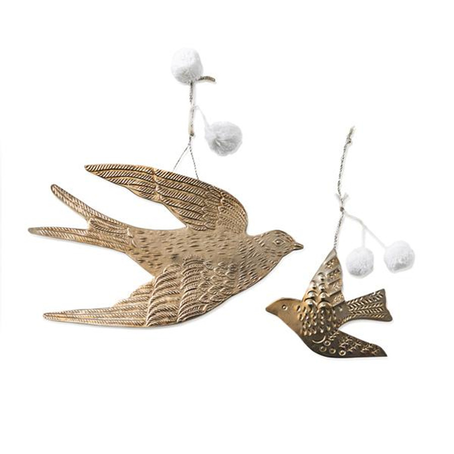 metal bird wall hanging