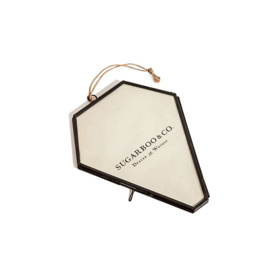 diamond shaped hanging picture frame