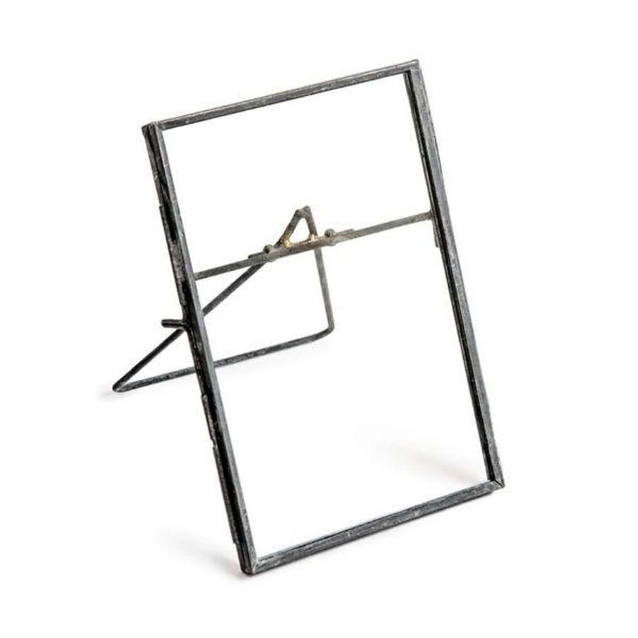 zinc vertical photo frame