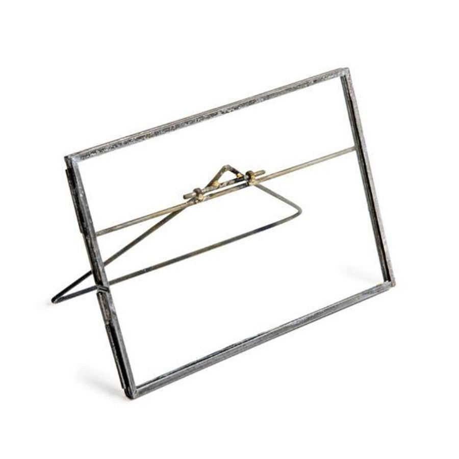 Zinc Picture Frame with Stand - Horizontal
