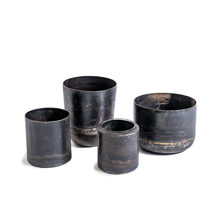 recycled iron votives