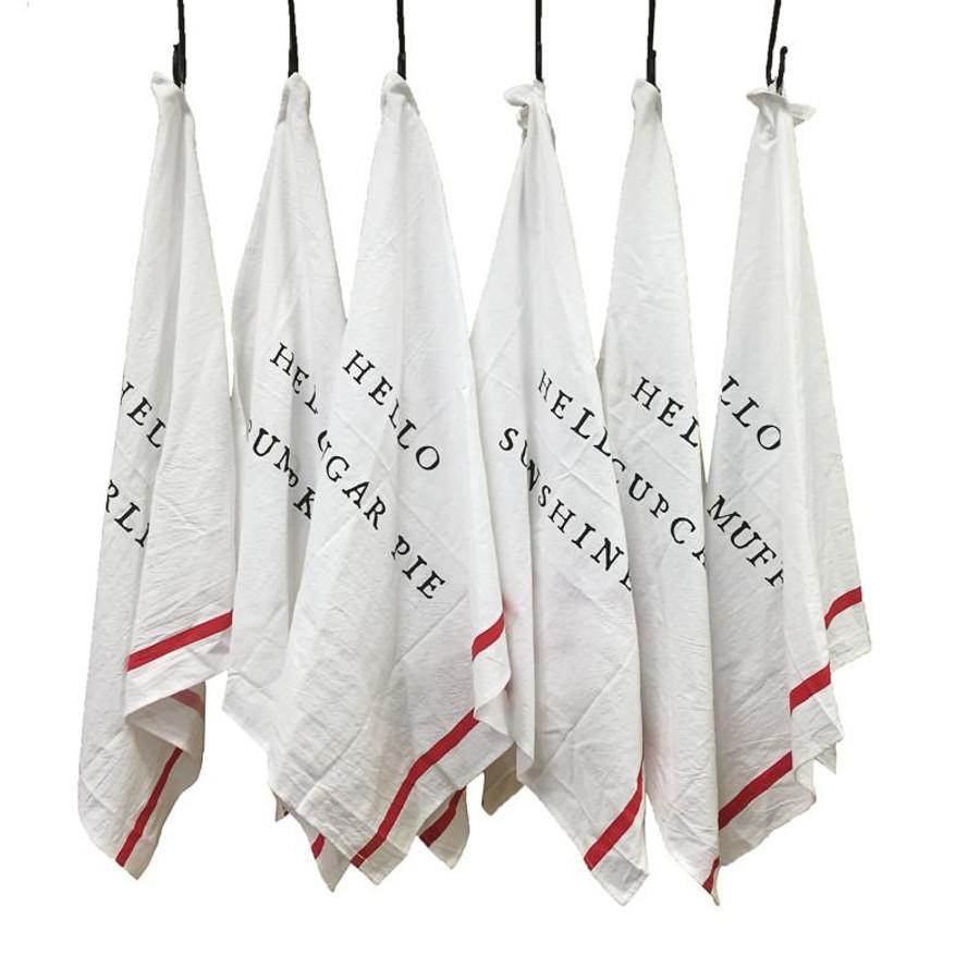 hello series cotton napkin