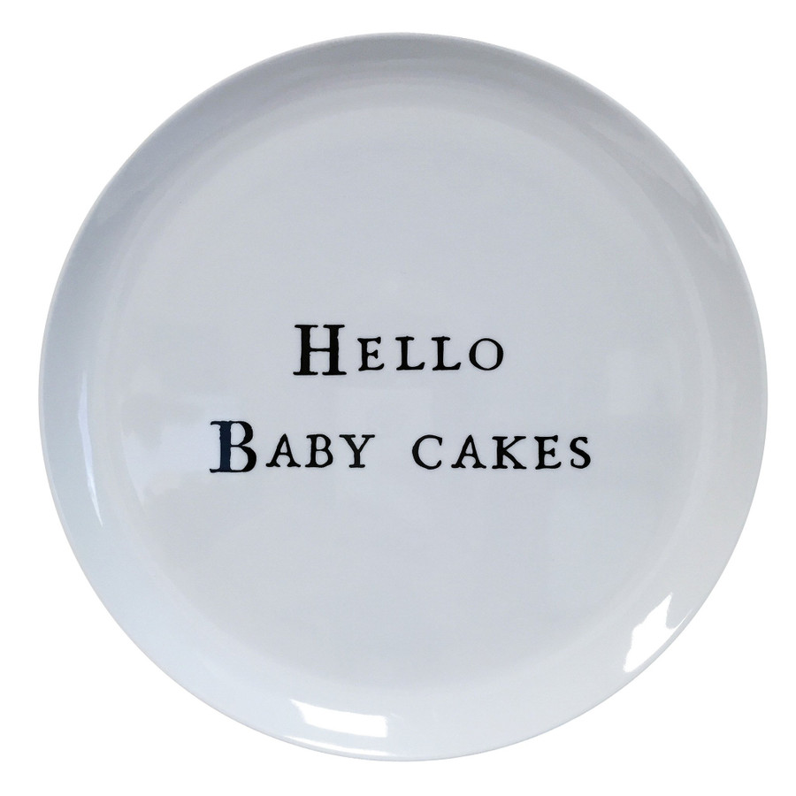Hello Series Melamine Plates
