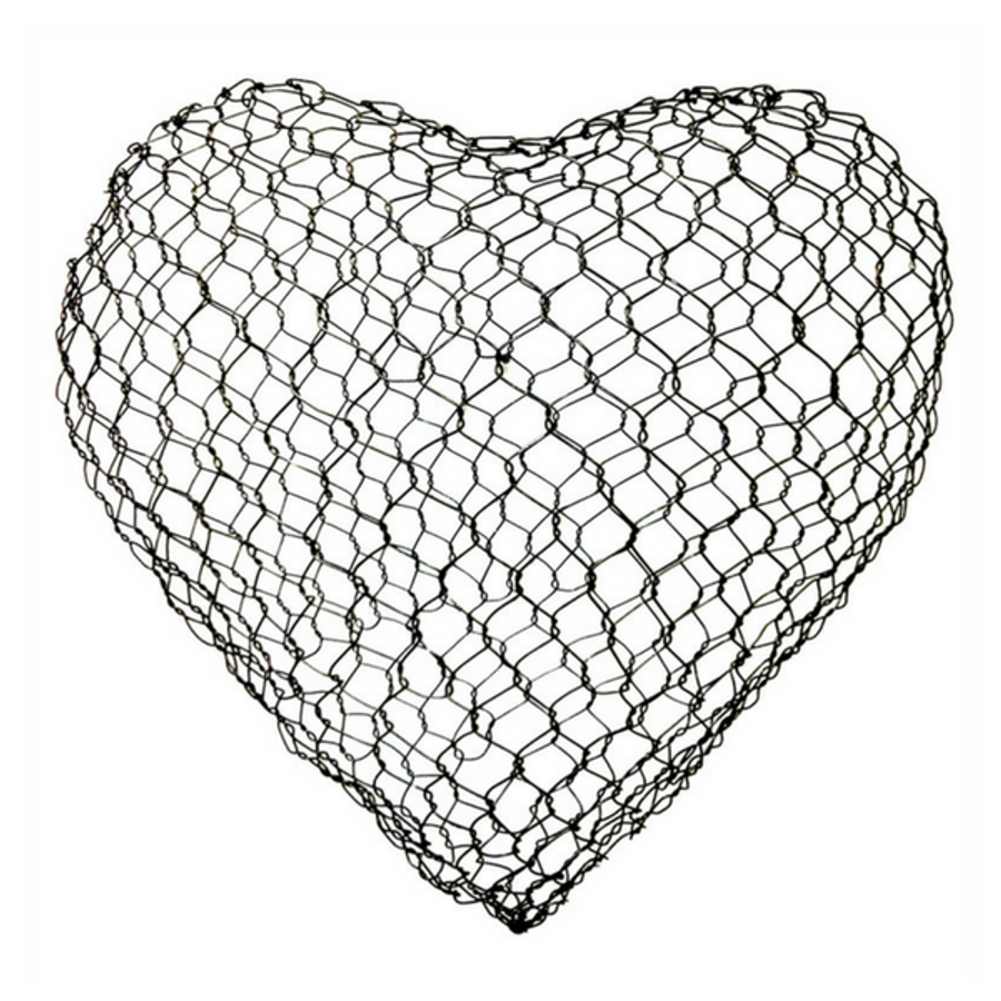 Large Wire Heart