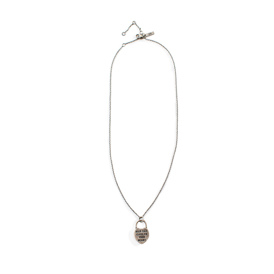 Heart Pendant (Keep This Close) Necklace