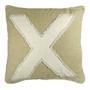 """""""X"""" pillow"""