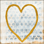 Heart of Gold art print with gallery wrap frame