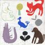 multicolored animals
