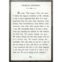charles swindoll art print - white with grey wood frame