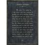 jackson kiddard art print - charcoal with grey wood frame