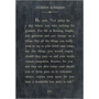 jackson kiddard art print - charcoal with gallery wrap frame