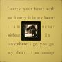 i carry your heart - photo box