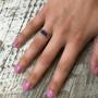 Lapis Rectangle Ring