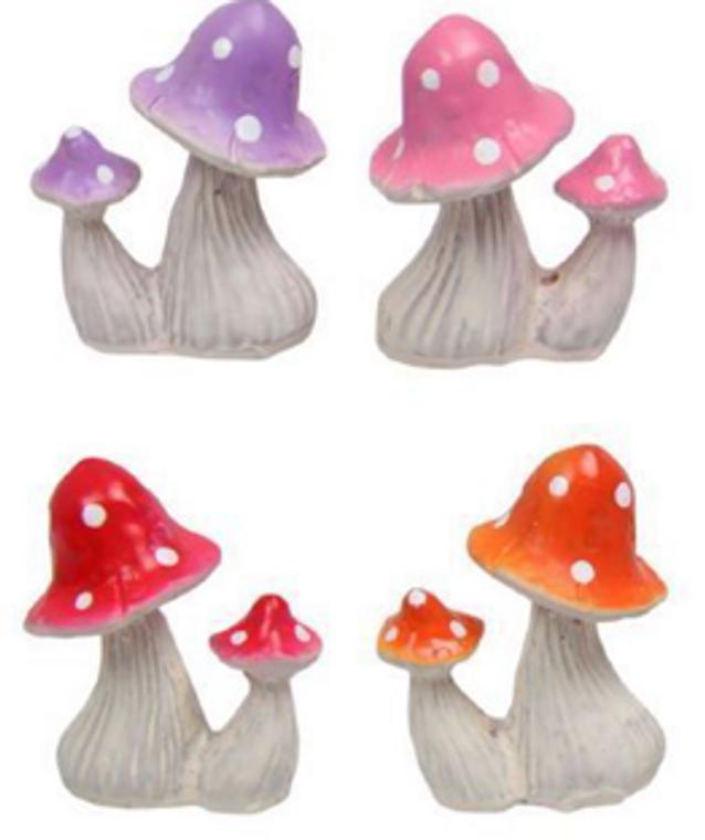 Twin Mini Mushrooms