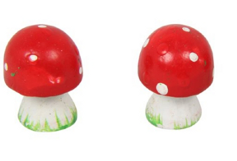 Mini Craft Mushroom 2cm