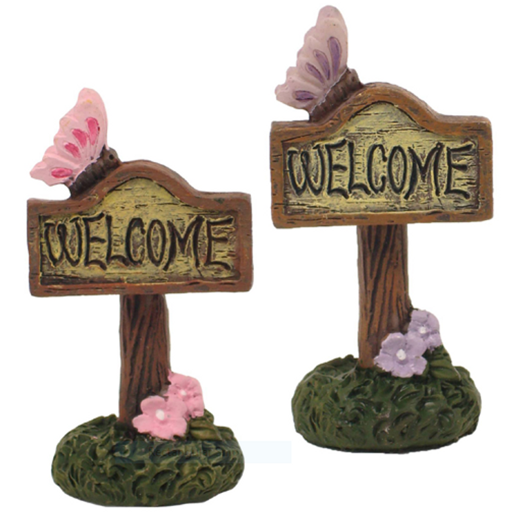 Enchanted Welcome Signs