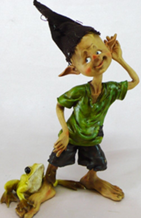 Elvin Pulling Frog