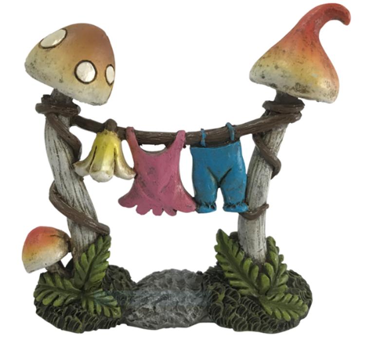 Mushroom Clothesline