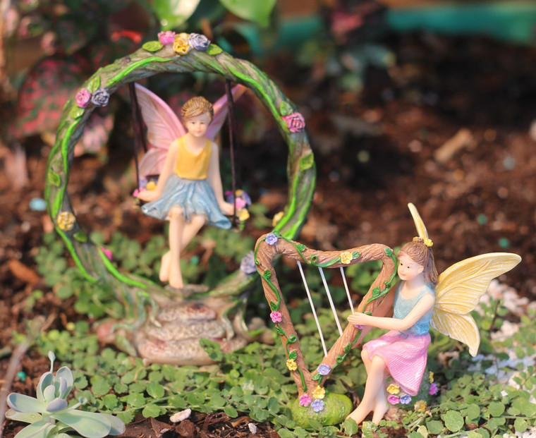 Fairy on Swing