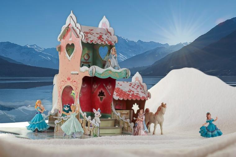 Snow Princess Castle Set
