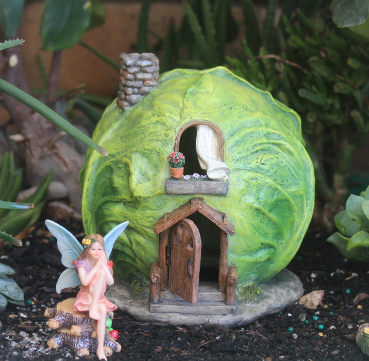 Cabbage Fairy House