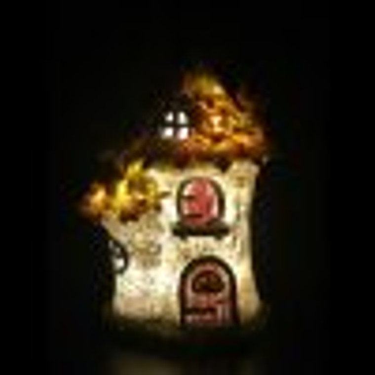 LED Autumn Fairy House