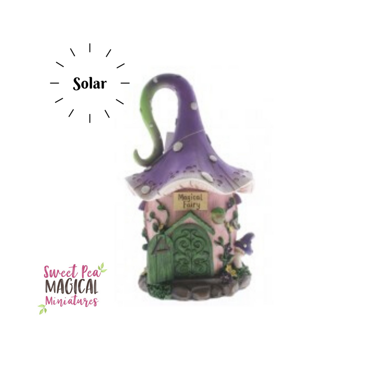 Mystical Solar Fairy House