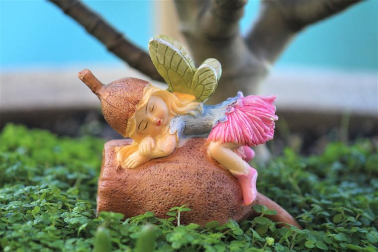 Sleeping Gumnut Fairy