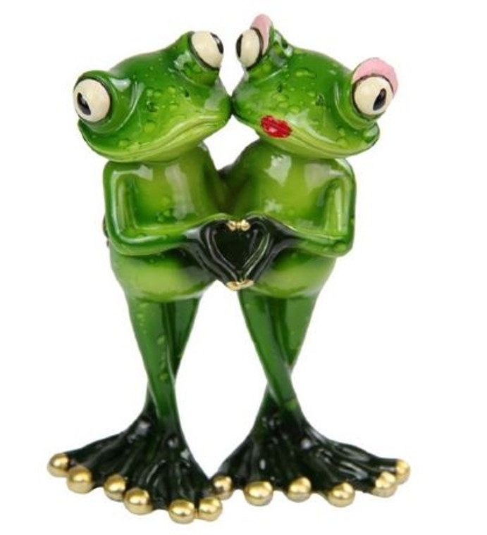 Frog Couple in Love