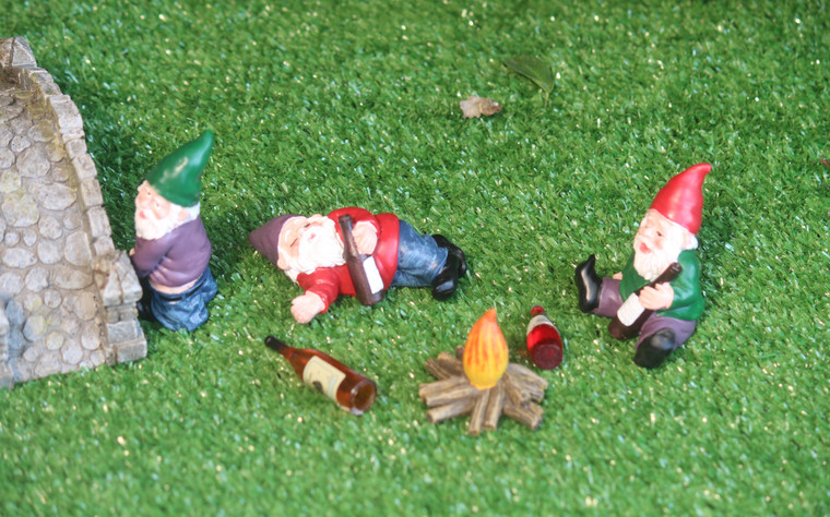 Naughty Gnomes (4 piece set)