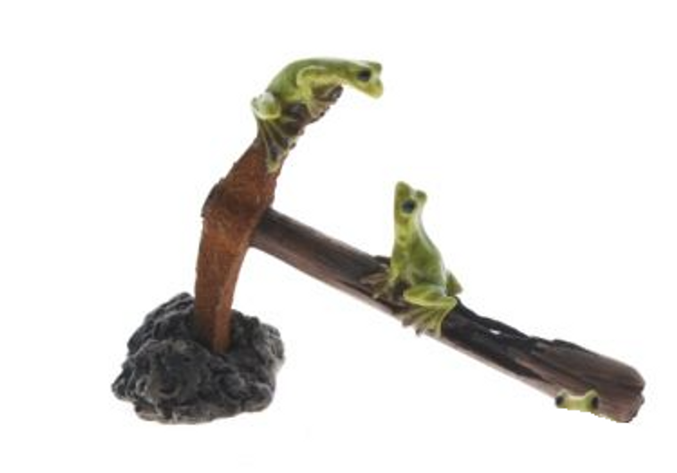 Frogs on Axe