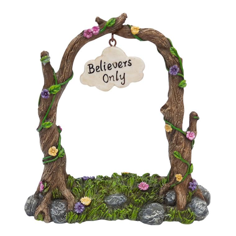 """""""Believers"""" Garden Arch"""