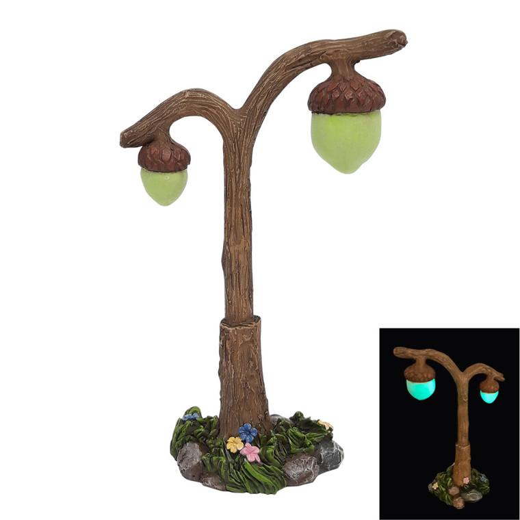 Lamp (acorns glow in the dark)