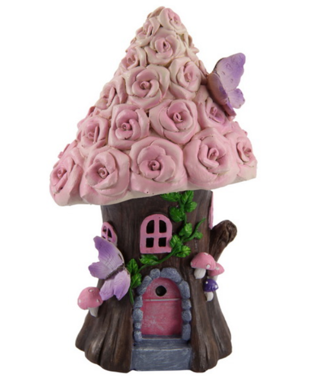 Fairy Garden Rose House