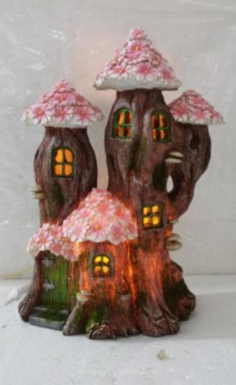 Daisy Fairy House  (Solar)
