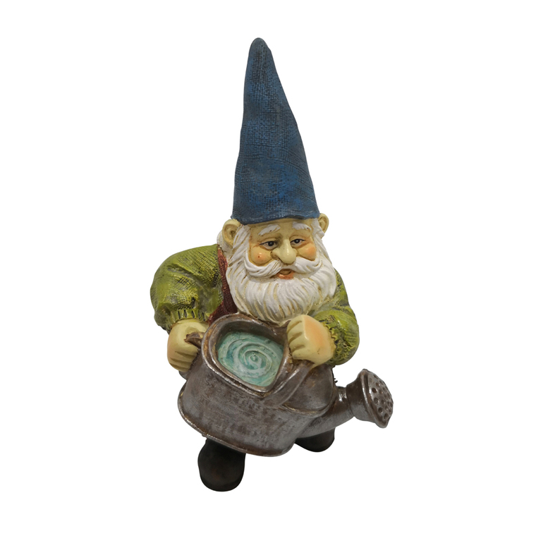 Garden Gnome - with Watering Can