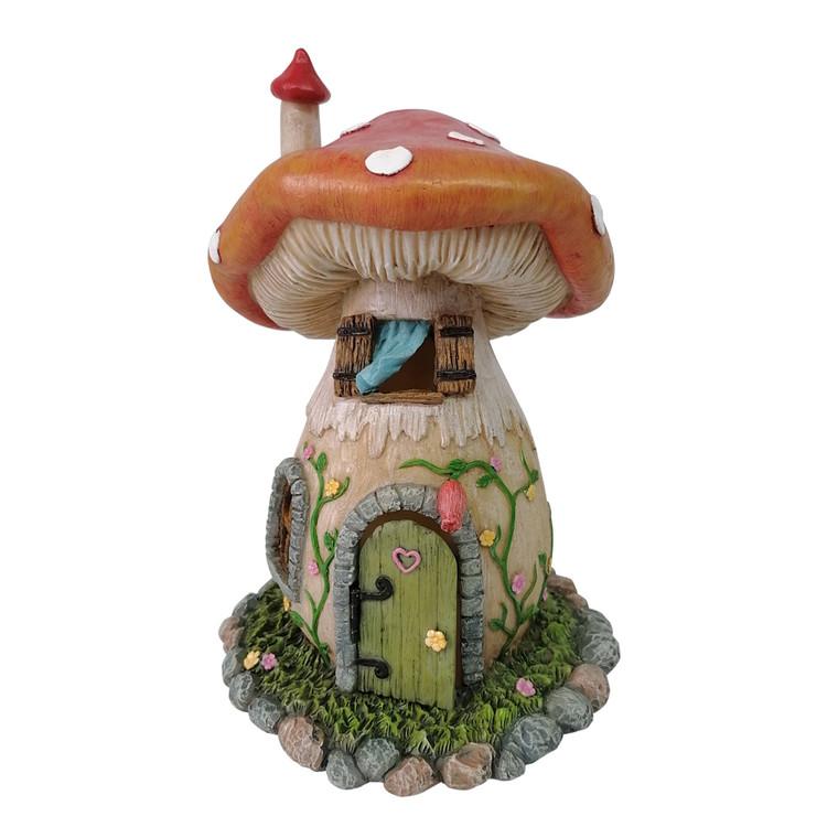 Mushroom House Red