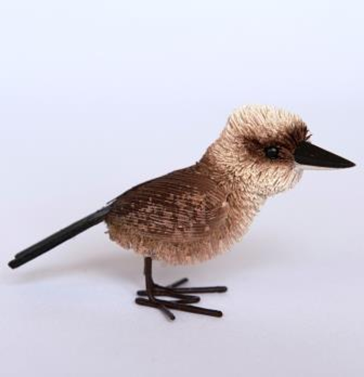 Beautifully Handcrafted, Handmade and all Natural Aussie Cheeky Kookaburra. Small Size.