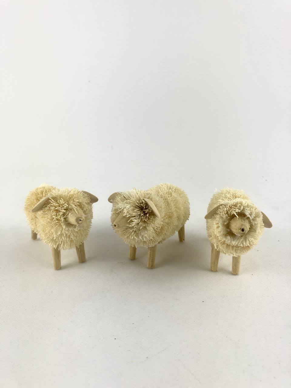 Beautifully Handcrafted, Handmade and all Natural Aussie Sheep. (set of 3) The cutest Sheep you will ever shear