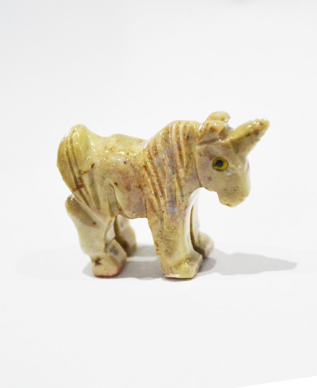 Unicorn Stone Carving