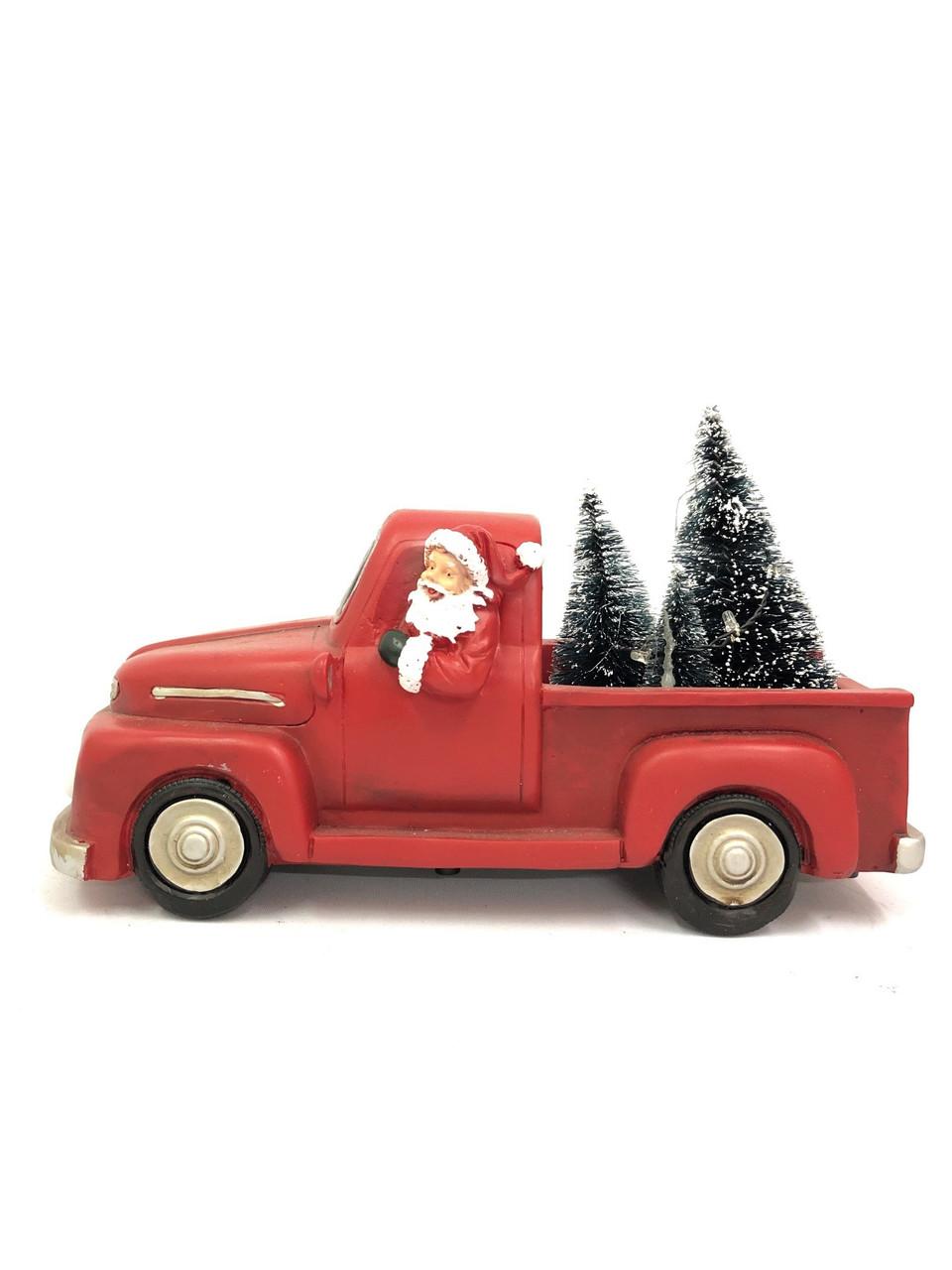 CHRISTMAS CAR - RESIN - FORD F1 Christmas Decoration