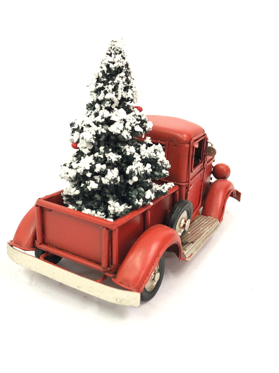CHRISTMAS CAR - RUSTY RED UTE - SMALL Christmas Decoration