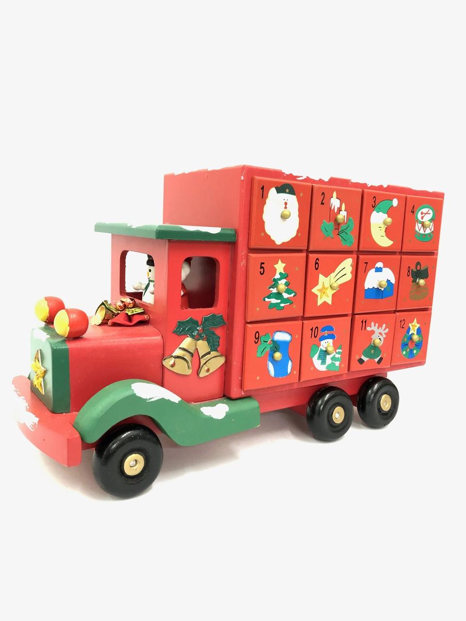 Christmas Advent Calendar - Truck - 39cm