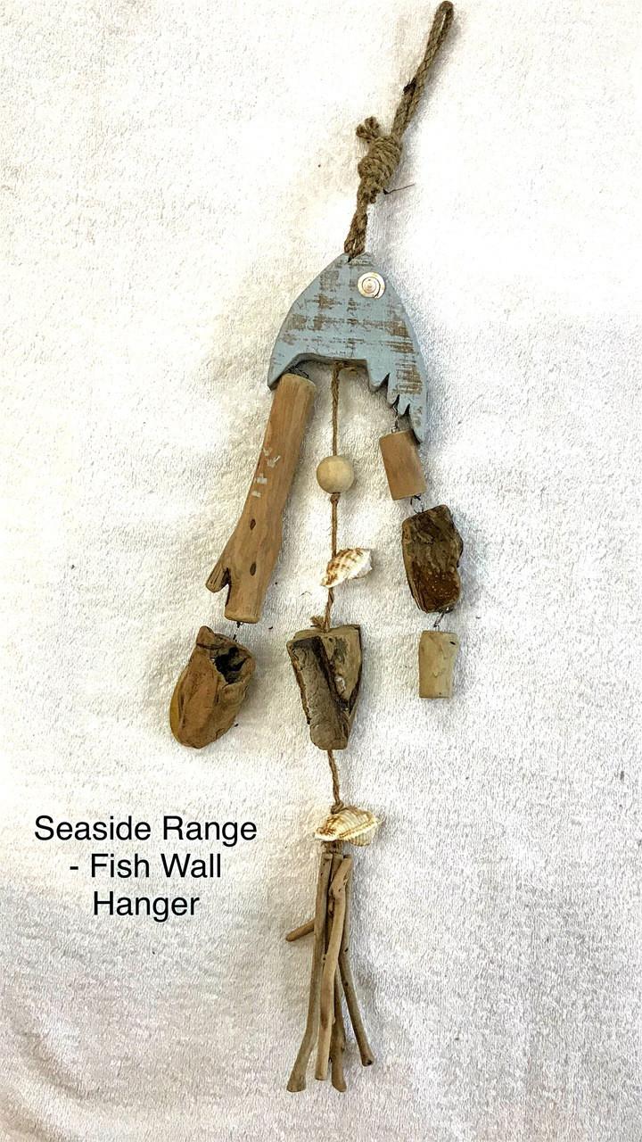 Seaside - Fish Wall Hanger 45cm