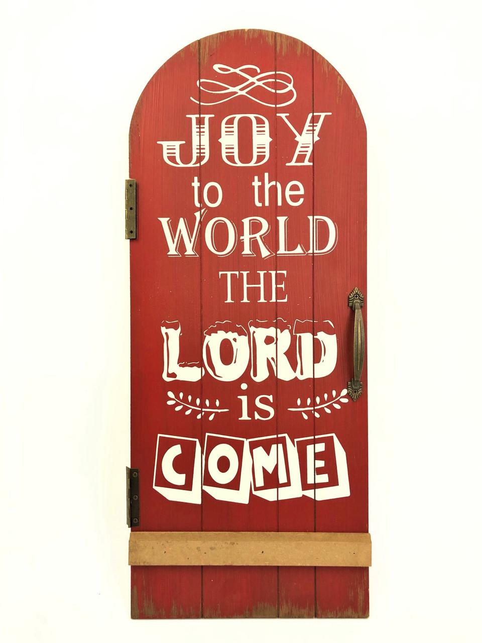 Christmas Sign - JOY TO THE WORLD - 60cm
