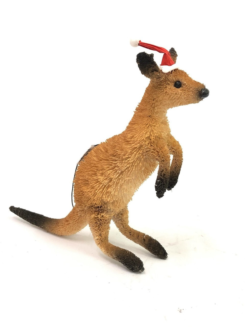 Large Red Kangaroo Standing / Hanging Christmas ornament - Bristlebrush - 15cm