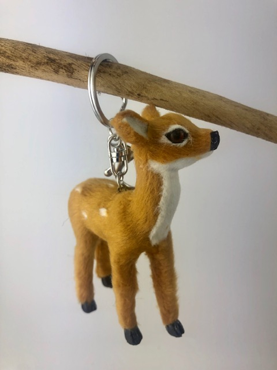 Gorgeous Furry Friends Keyring DEER. Collect them all
