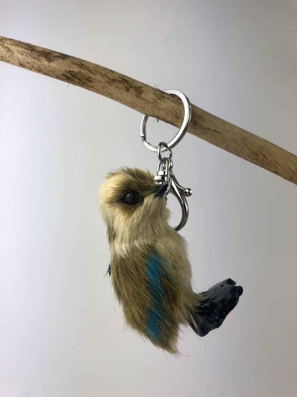 Gorgeous Furry Friends Keyring KOOKABURRA. Collect them all