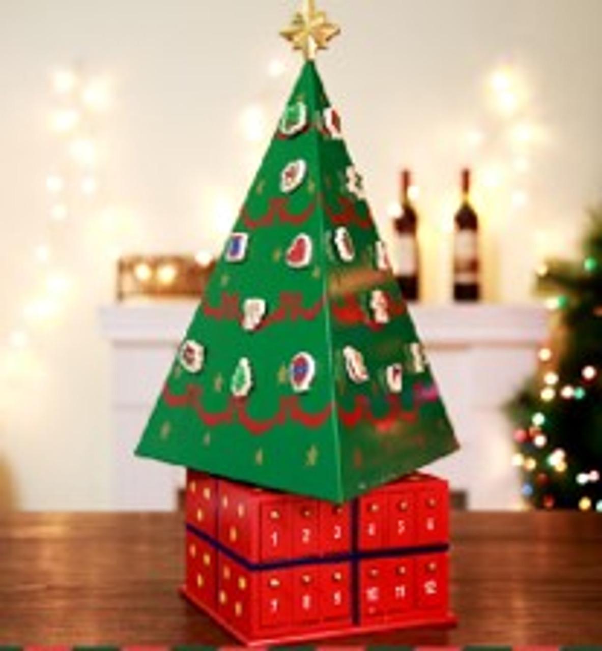 Beautiful LARGE - Christmas Tree Advent Calendar - 54cm High
