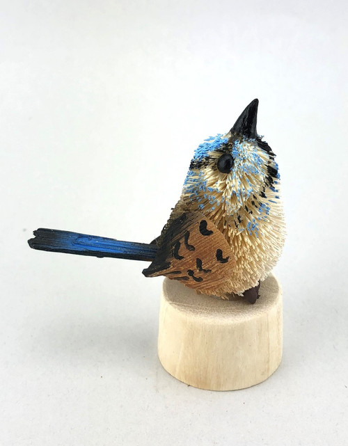 Blue Wren - Pencil Sharpener